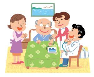 訪問診療の風景
